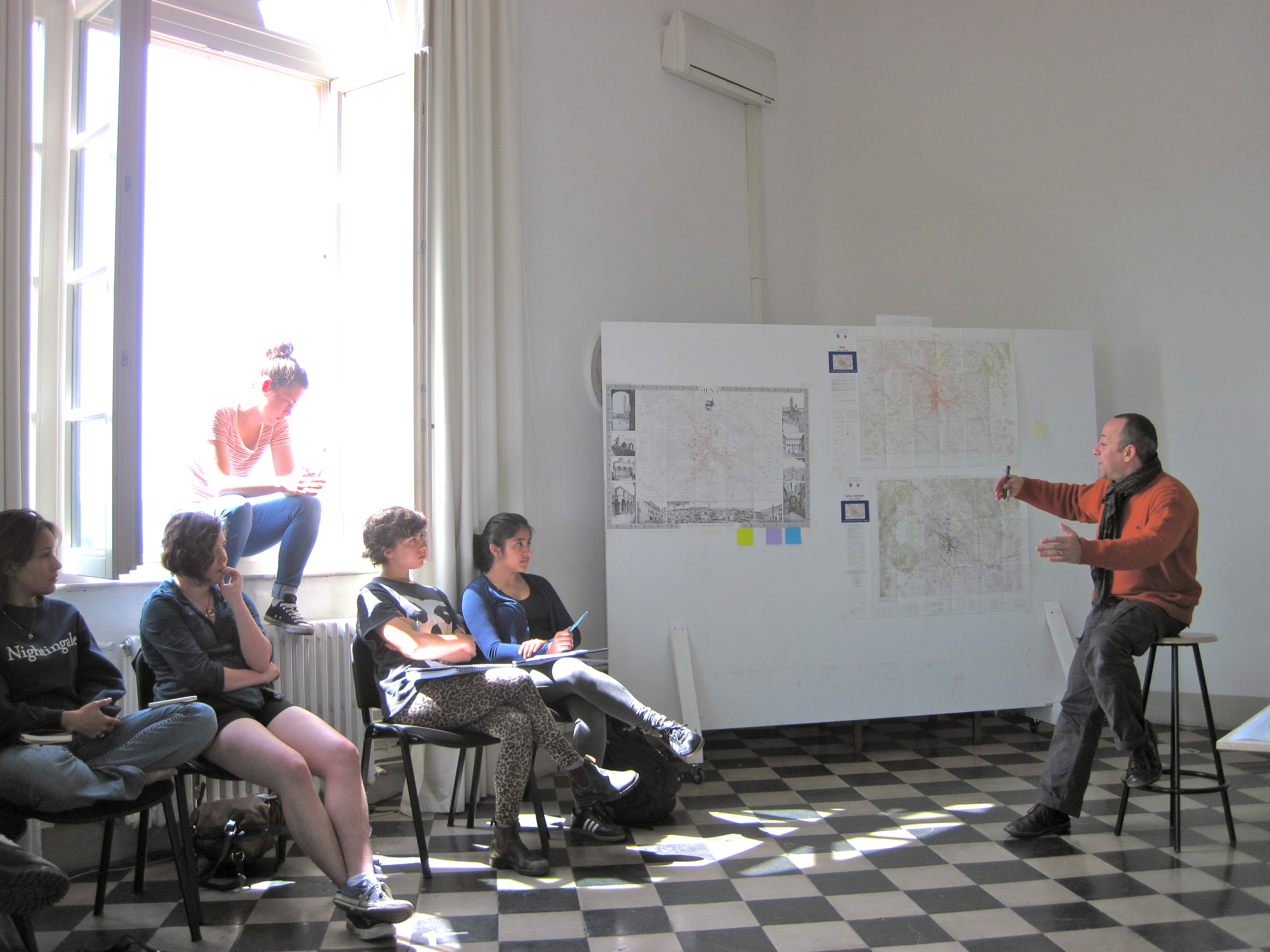 Fifth Project Meeting, April 24