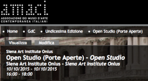 Amaci, Oct 10 Open Studio