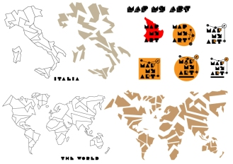 Maps-Italy-World