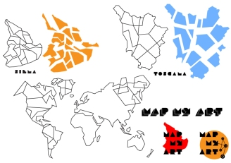 Maps-Siena-Toscana-World