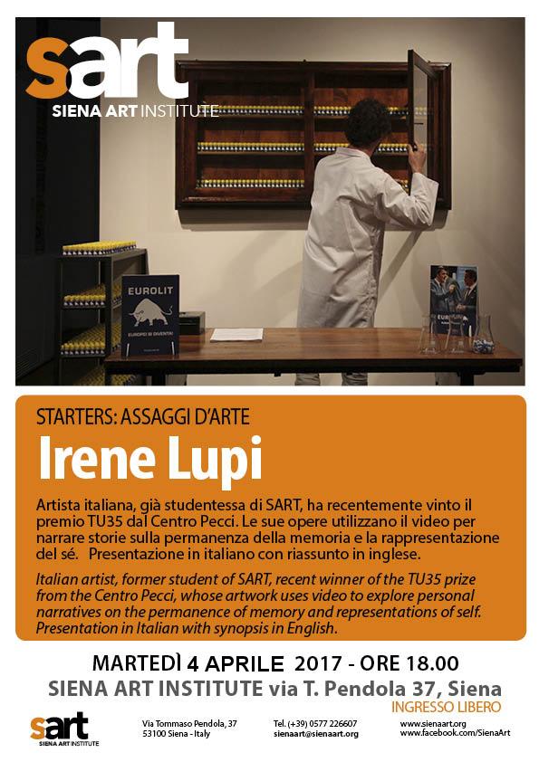 Irene Lupi 4 aprile stARTers updated