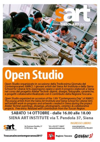 Open Studio 2017 Amaci updated