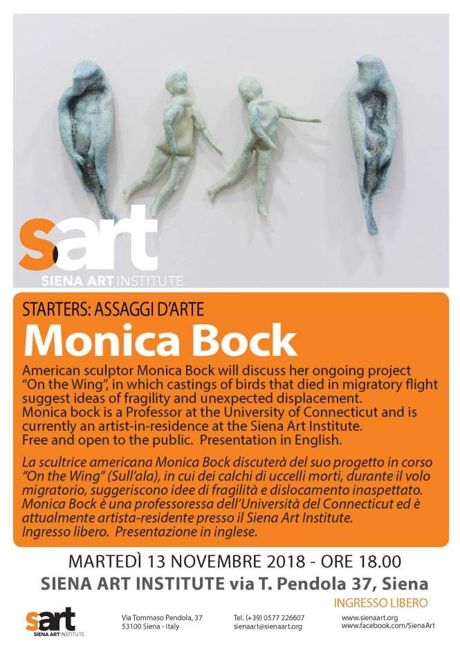 Monica Bock, 13 ottobre stARTersUPDATE