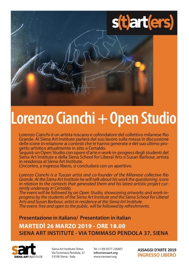 Lorenzo Cianchi starters + Open Studio copy
