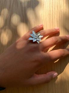 Mira Tiwari, Silversmithing, Ringing in Spring 1