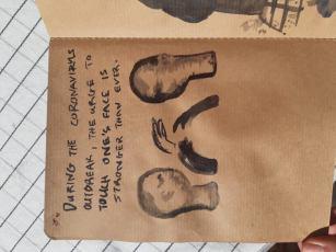 Mytro Patramani, Ceramics, Sketchbook 13