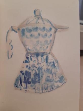 Mytro Patramani, Ceramics, Sketchbook 2