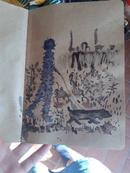 Mytro Patramani, Ceramics, Sketchbook 8