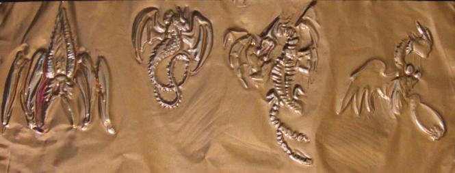 Rozalia Tegougianni, Silversmithing,medieval dragons