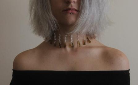 Rozalia Tegougianni, Silversmithing,nekclace