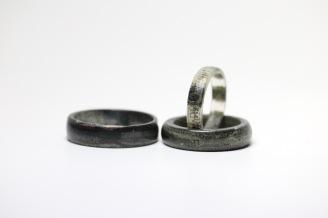 Silvio Papei, Silversmithing, Newspaper ring 2